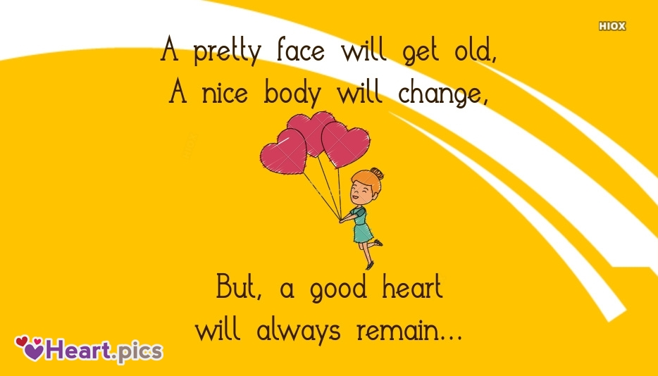 A Good Heart Inspirational Quotes