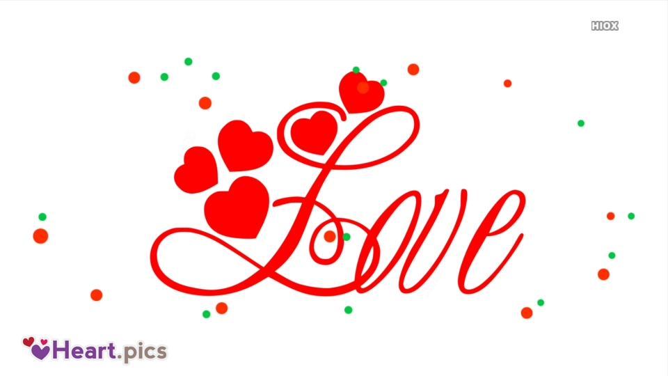 Font Love Heart Images, Pictures