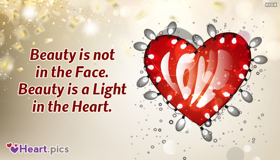 Beauty Love Heart Images, Pictures