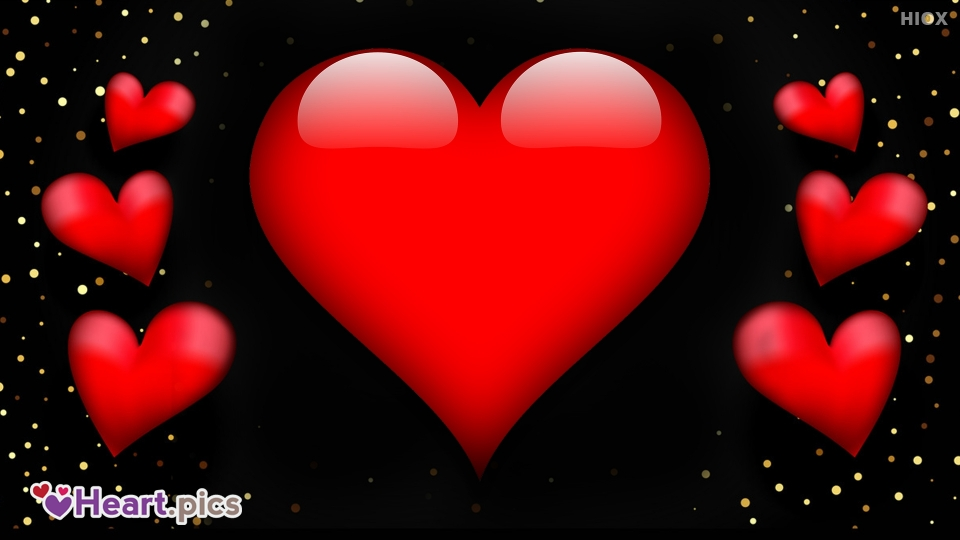 Red Heart Love Heart Images, Pictures