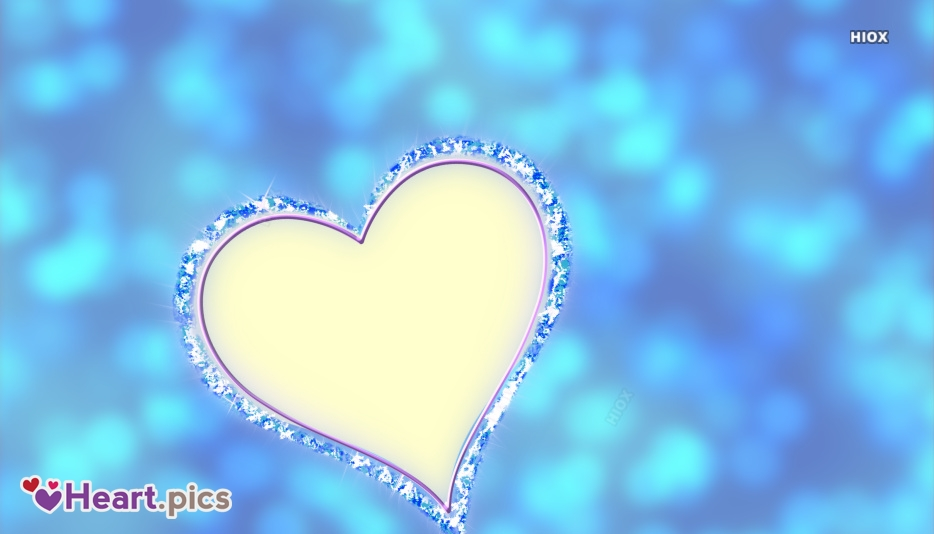 Blue Heart Wallpaper Picture