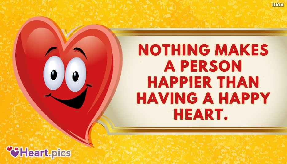 Happy Heart And Happiness Quotes