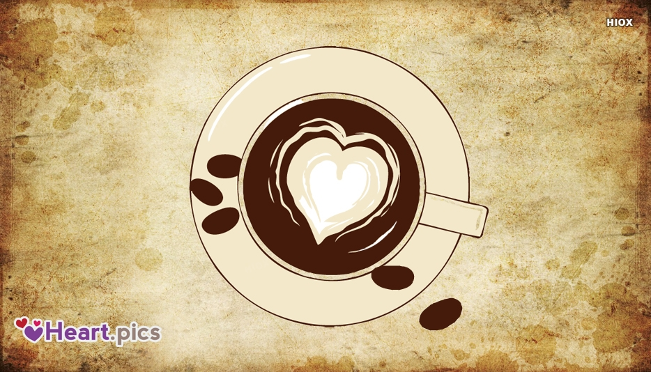 Love Heart Coffee Image