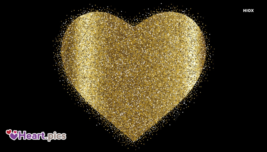Glitter Heart Images, Pictures
