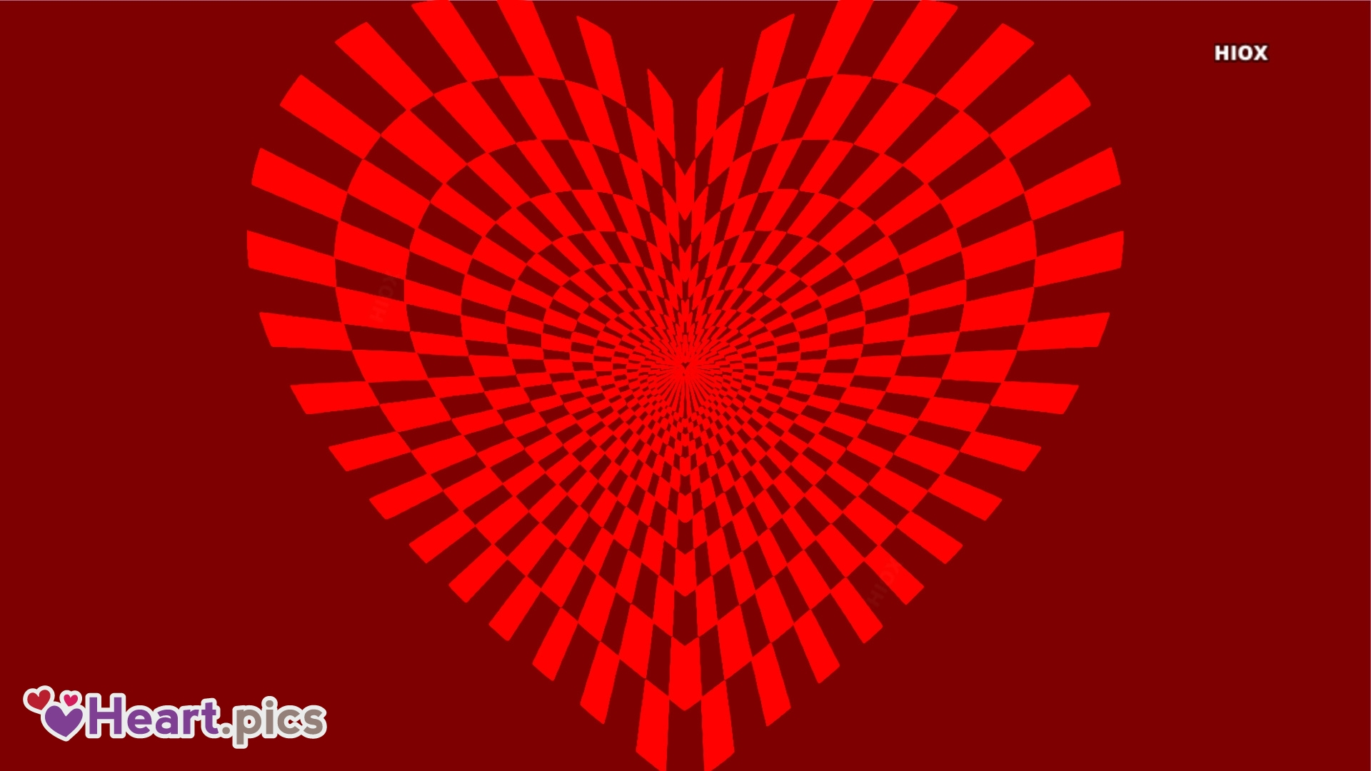 Beautiful Heart Illusion Picture