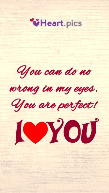 Heart Image With I Love You Quotes