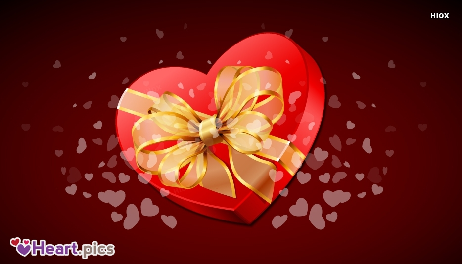 Love Heart Gift Images, Pictures