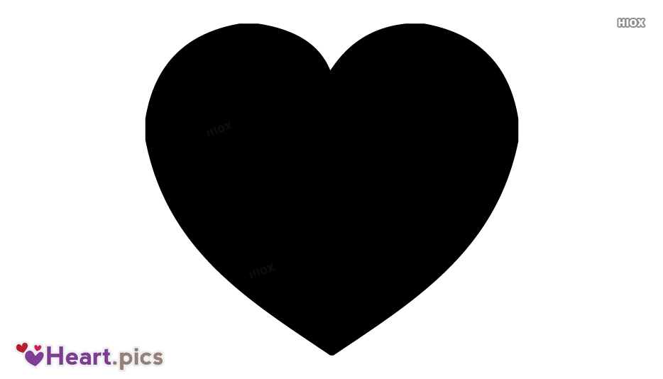 Black Love Heart Images, Pictures