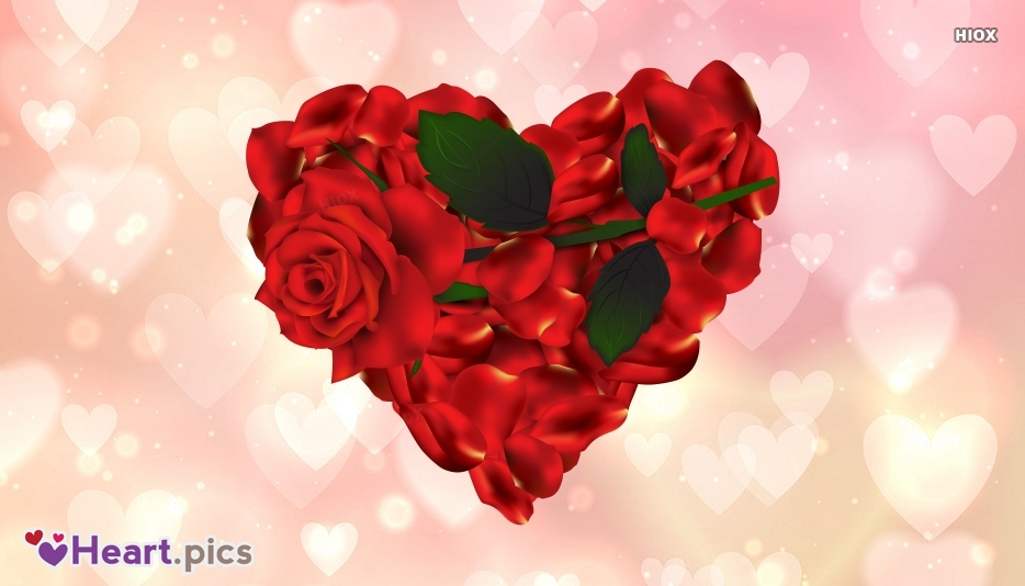 Red Rose Heart Images, Vectors