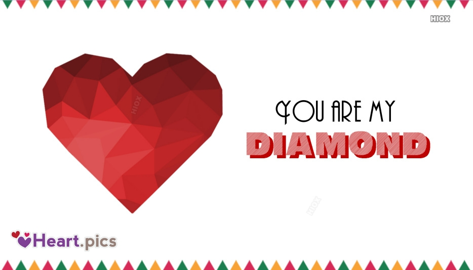 Diamond Heart Images, Pictures