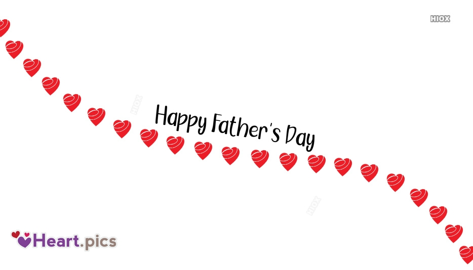 Heart Love Fathers Day