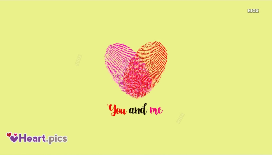 You And Me Heart Images