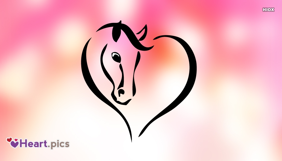 Horse Heart Images, Pictures