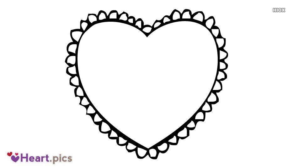 Pencil Sketch Love Heart Images, Pictures