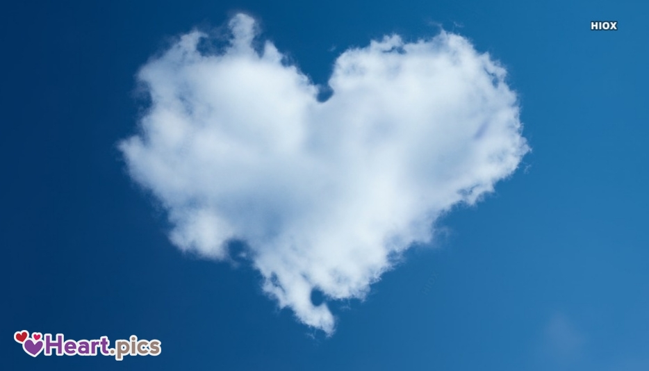 Clouds Love Heart Images, Pictures
