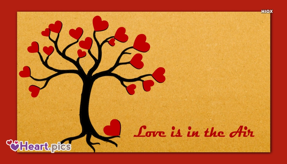 Love Heart Tree Image