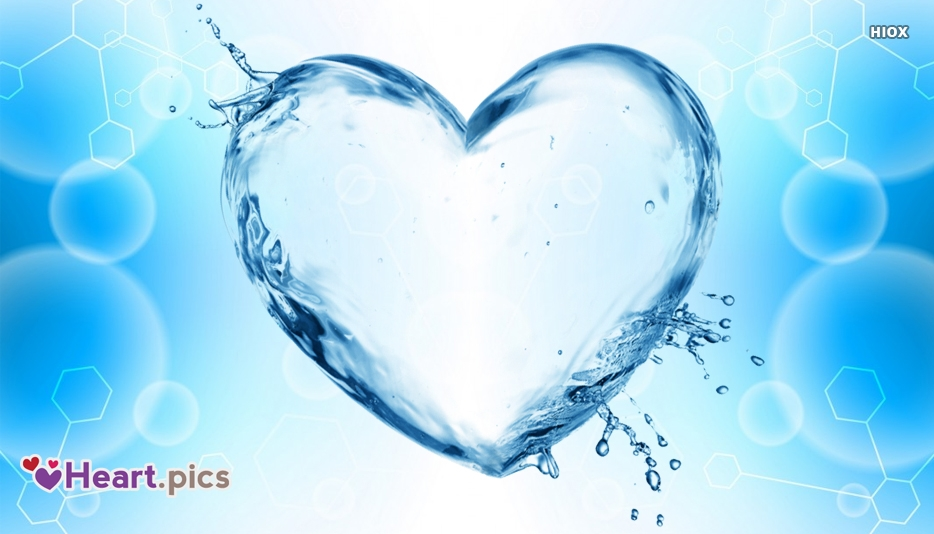 Heart Love Water