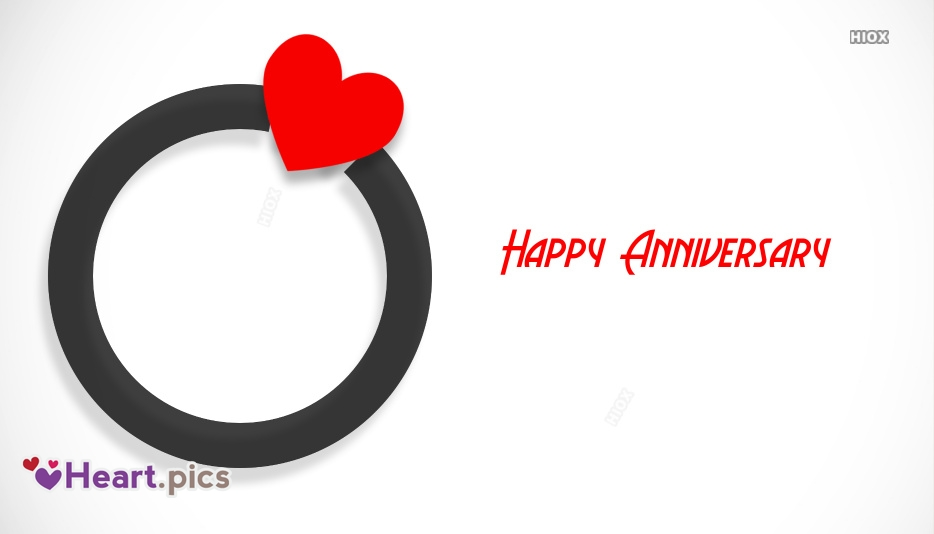 Happy Anniversary Images, Pictures With Love Heart