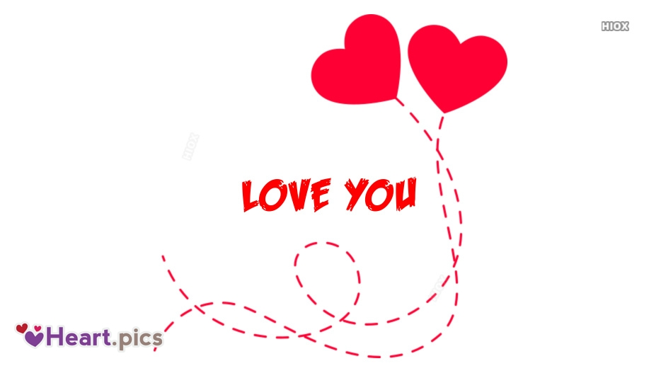 Love You Heart Images for Facebook