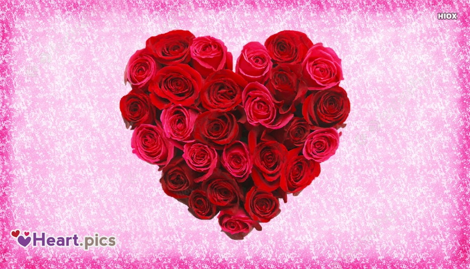 Love Heart Rose Images
