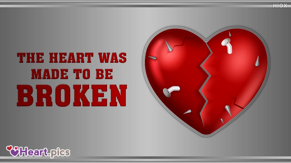 Broke Love Heart Images, Pictures