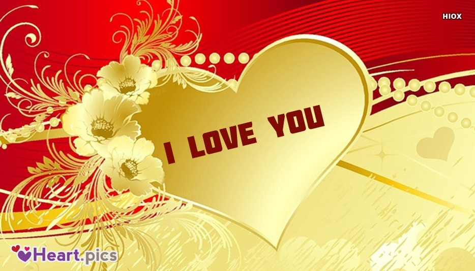 I Love U Heart Images