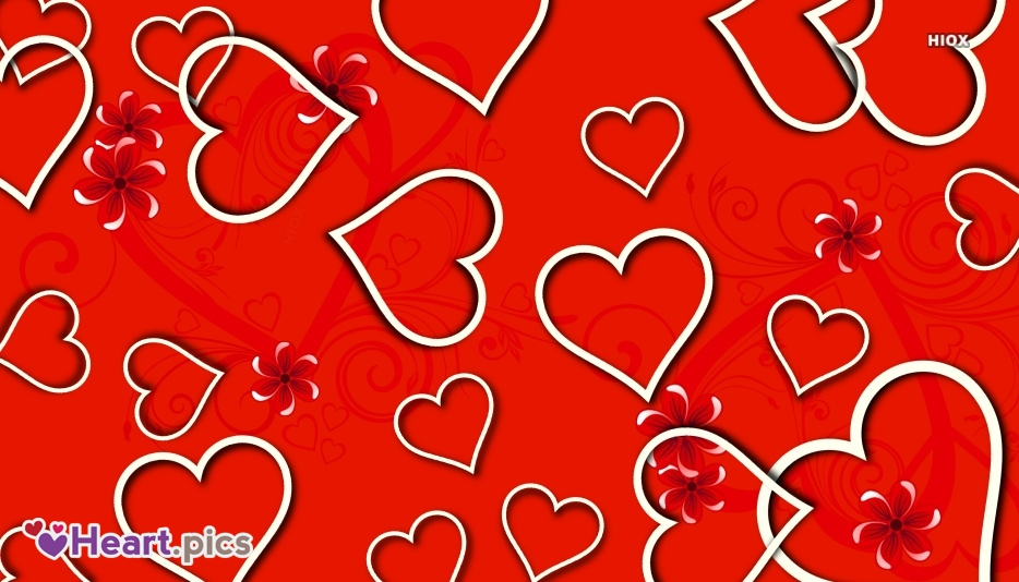 Love Heart Vector Background