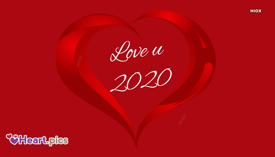 2020 Love Heart Images, Pictures