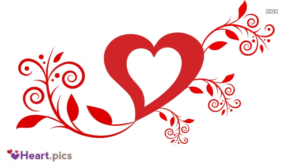 Mehndi Love Heart Images, Pictures