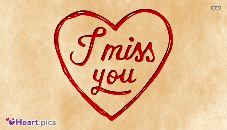 Miss U Heart Images
