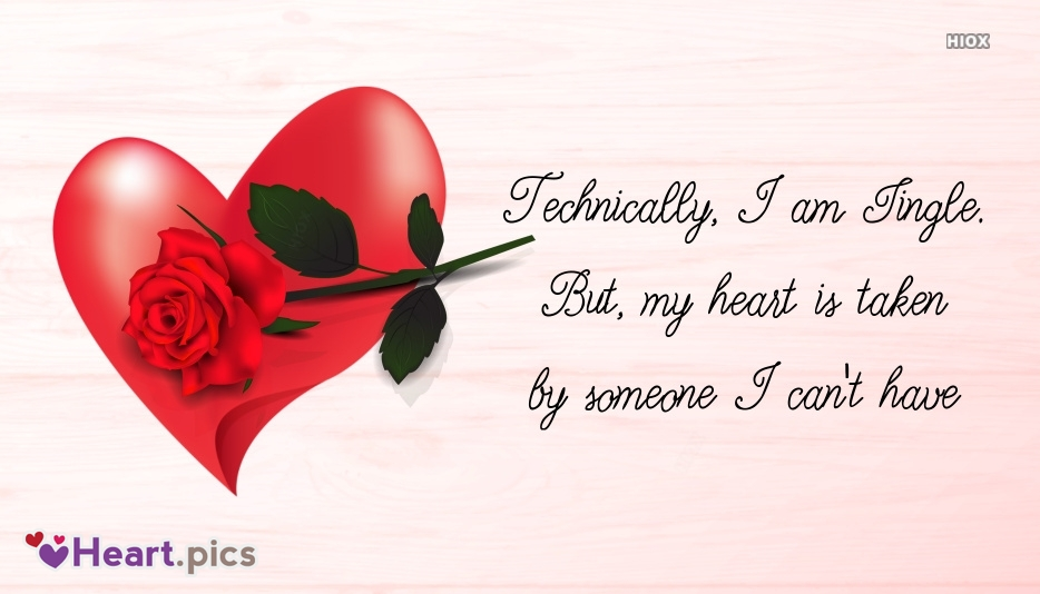 Love Quotes For Singles With Heart Pics