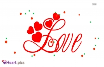 Beautiful Love Heart Font