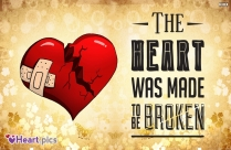 Heart Broken Sayings Image