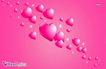 Flying Love Heart Images Pink