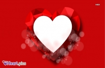 Heart Image Red Colour