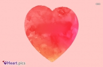 Love Heart Painting Image