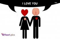Heart Love Brain