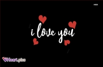 I Love You Heart Image for Whatsapp