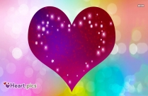Heart Love Sparkle