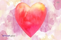 Beautiful Love Heart Art Picture