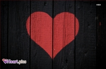Love Heart Wood Background Image