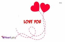 Love You Heart Red Image