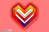 Heart Shape Letter V Images Love