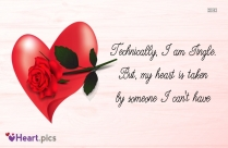 Technically, I Am Single Quotes